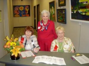 2008 HCBF. June, Marge & Helen